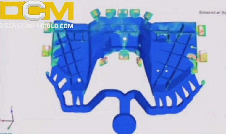 Porosity in Aluminum Alloy Die Castings and New Development of Die Casting Technology | Diecasting-mould