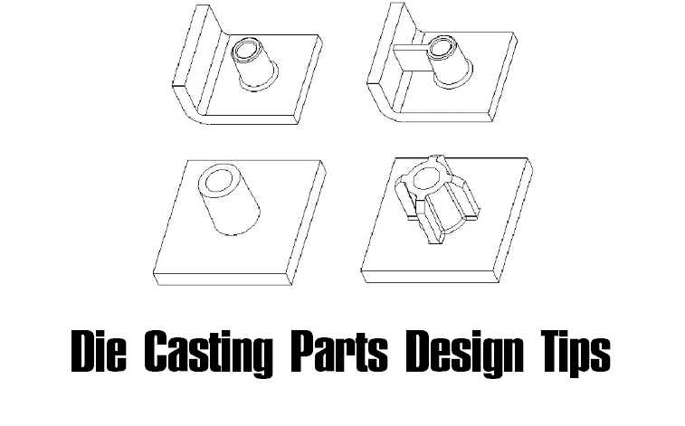 Die Casting Parts Design Guide & Tips - How to Design a Part for Die Casting | Diecasting-mould