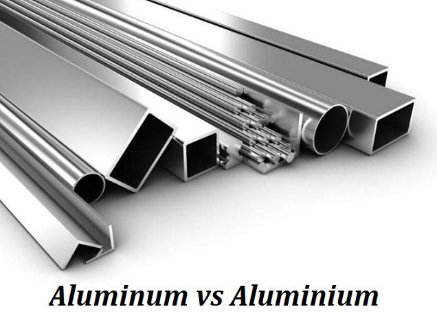 Difference Between Aluminum and Aluminium - Aluminum vs Aluminium | Diecasting-mould