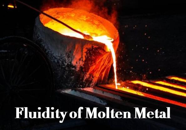 What is Fluidity of Molten Metal - Factors Affecting Molten Metal Fluidity
